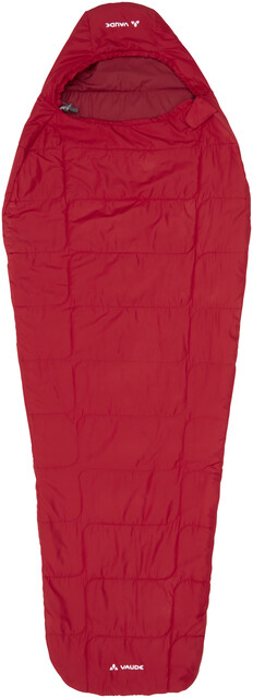 VAUDE Sioux 100 Syn Sleeping Bag dark indian röd